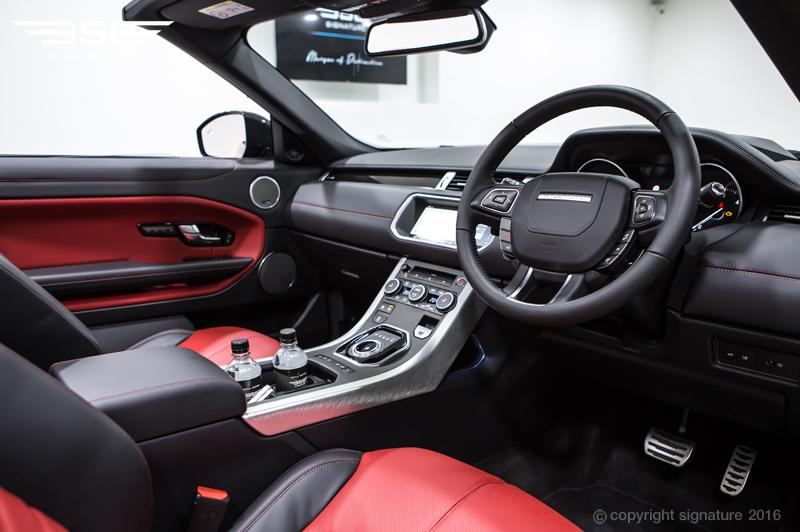 range rover evoque convertible hse dynamic lux black. Black Bedroom Furniture Sets. Home Design Ideas